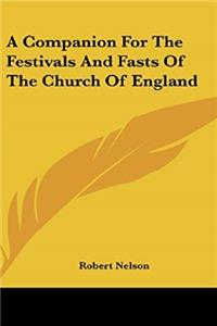 e-Book A Companion For The Festivals And Fasts Of The Church Of England download