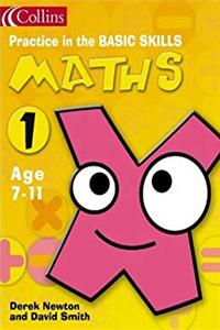 e-Book Maths Book 1 (Practice in the Basic Skills) (Bk.1) download