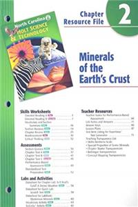 e-Book Holt Science  Technology North Carolina: Chapter Resource File, Chapter 2 Grade 6 Minerals of the Earth's Crust download