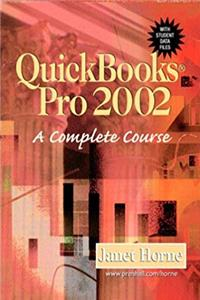 e-Book Quickbooks Pro 2002: A Complete Course download