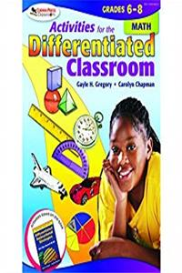 e-Book Activities for the Differentiated Classroom: Math, Grades 6 - 8 download