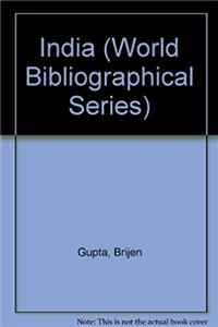 e-Book India (World Bibliographical Series) download