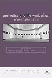 e-Book Aesthetics and The Work of Art: Adorno, Kafka, Richter (Language, Discourse, Society) download