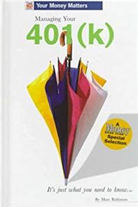 e-Book Managing Your 401(K) (Time Life Books Your Money Matters) download