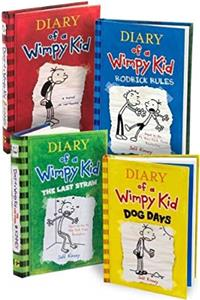 e-Book Diary of a Wimpy Kid, Books 1-4: Diary of a Wimpy Kid, Rodrick Rules, The Last Straw, and Dog Days download