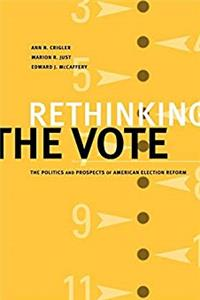 e-Book Rethinking the Vote: The Politics and Prospects of American Election Reform download