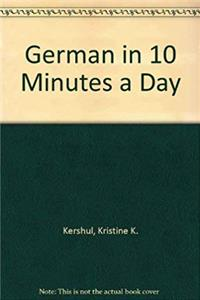 e-Book GERMAN in 10 minutes a day download