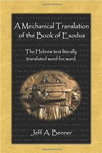 e-Book A Mechanical Translation of the Book of Exodus download