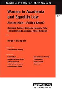 e-Book Women in Academia  Equality Law. Aiming High - Falling Short? (Bulletin of Comparative Labour Relations Series Set) download