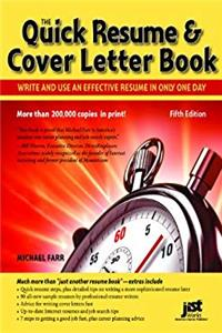 e-Book Quick Resume  Cover Letter Book: Write and Use an Effective Resume in Just One Day (Quick Resume and Cover Letter Book) download