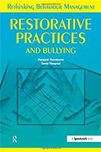 e-Book Restorative Practices and Bullying (Rethinking Behaviour Mangement) download