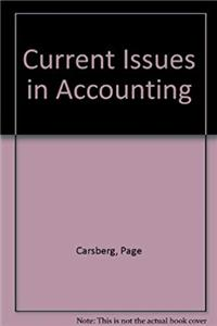 e-Book Current Issues in Accounting download