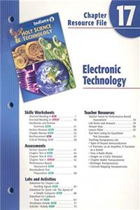 e-Book Indiana Holt Science  Technology Chapter 17 Resource File: Electronic Technology download