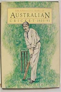 e-Book The Formative Years of Australian Cricket download